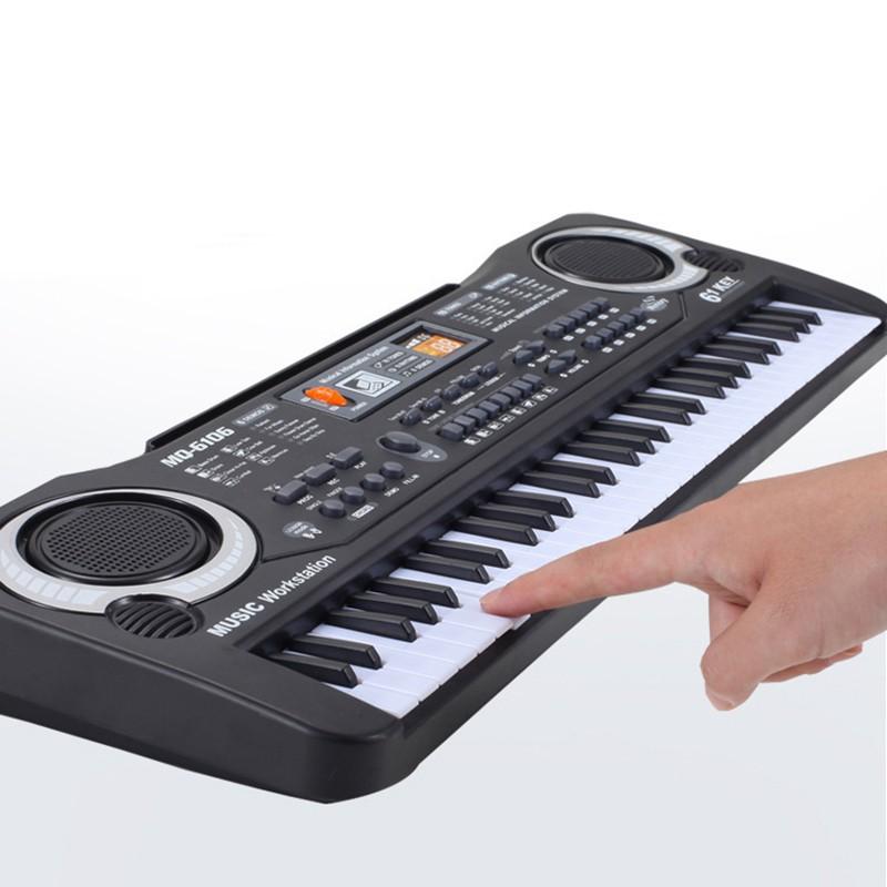 61 Keys Digital Music Electronic Keyboard Key Board Electric Piano GHTS