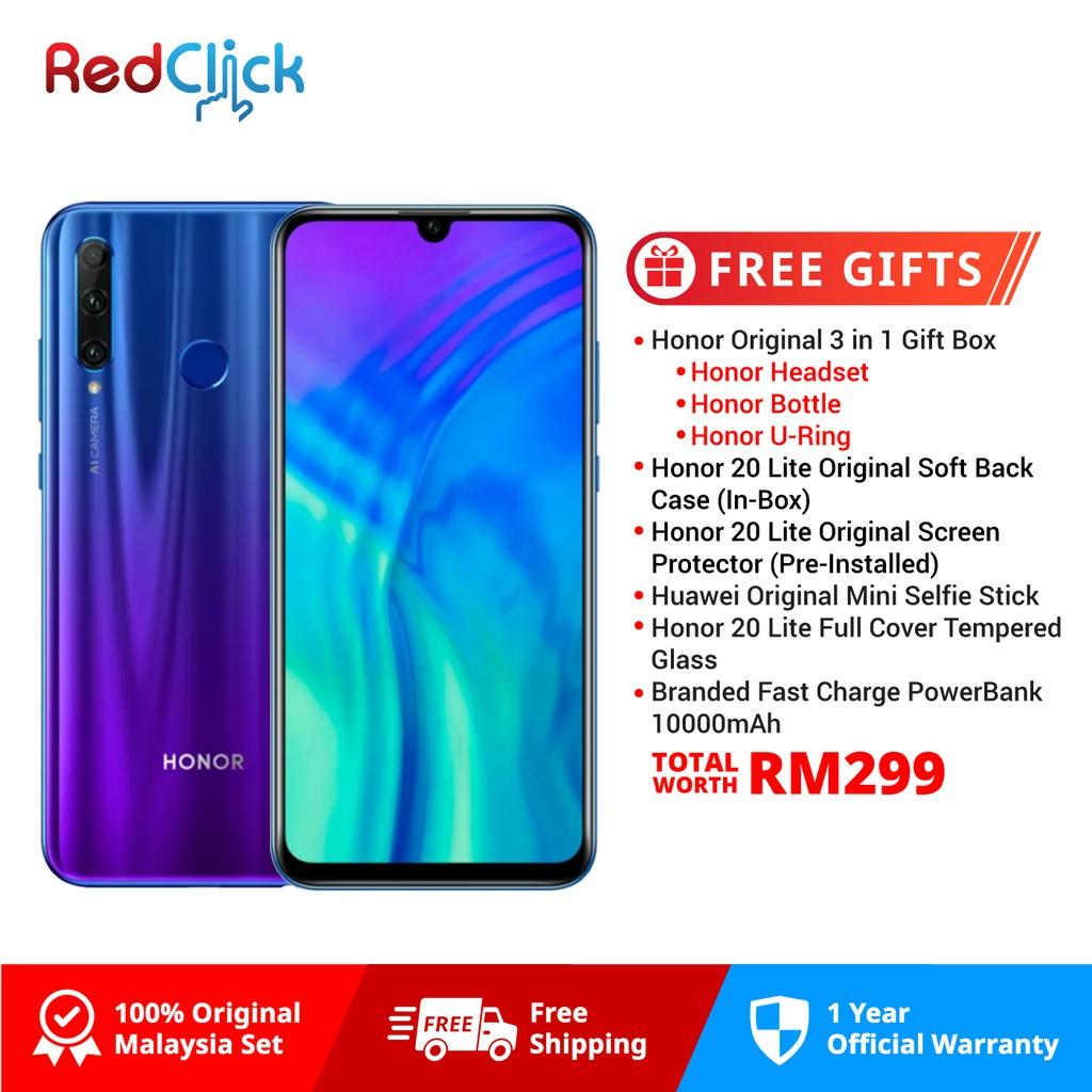 74f910b1ff59dd [Free Bag]Honor 20lite 2019 [4GB+128GB][Original Honor Warranty] | Shopee  Malaysia