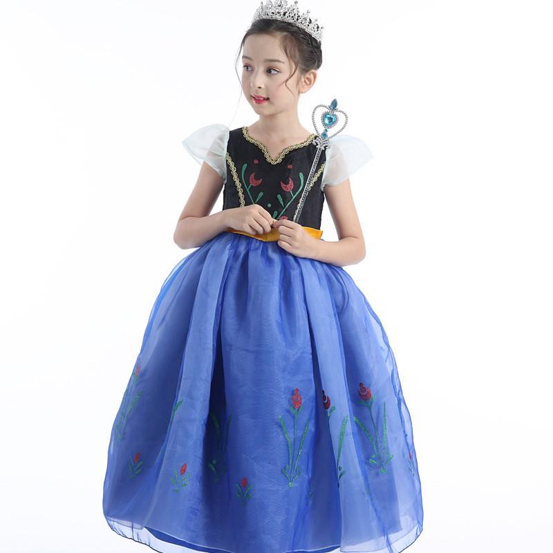 c790af1d6e Children's Wear Frozen Children Anna Princess Dress Girl Dress Halloween  Costume