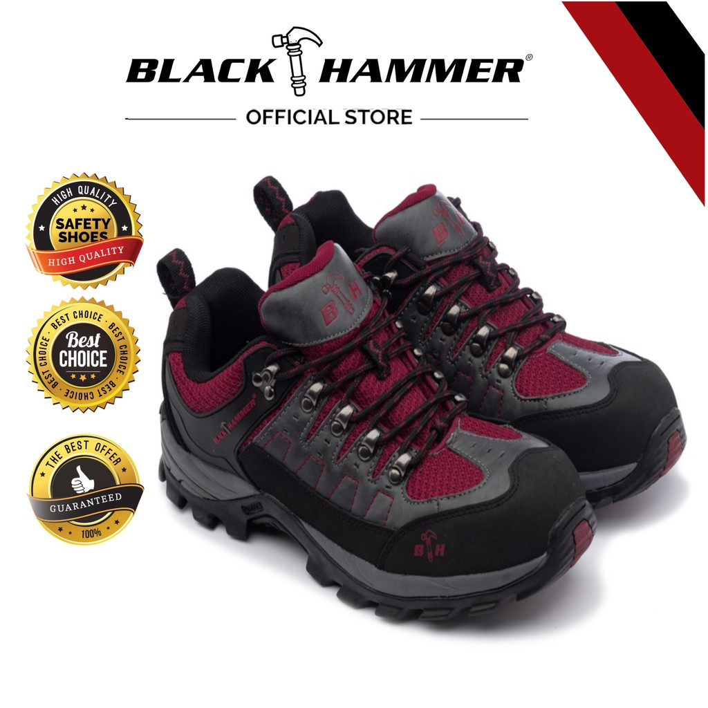 9c8e891a6dd Black Hammer Men Safety Low Cut with Shoelace BHS201607