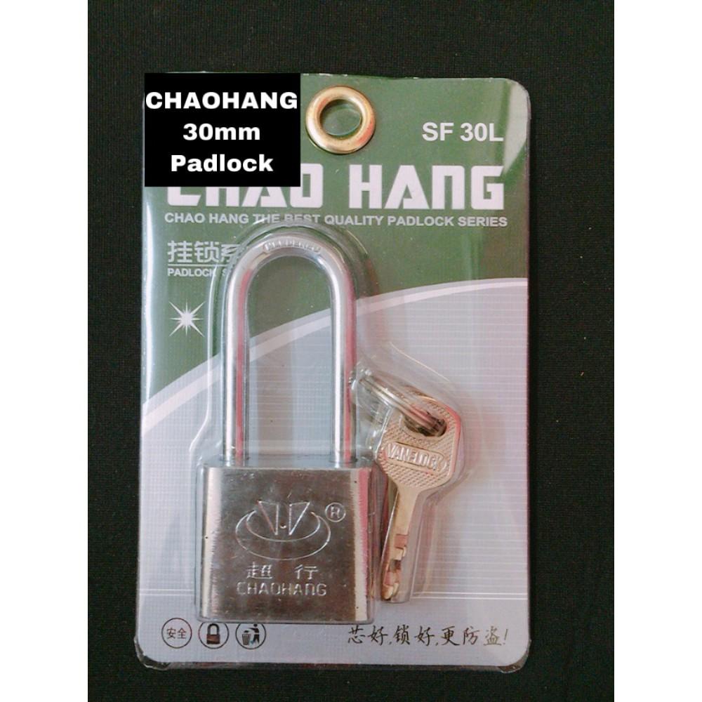CHAOHANG Long Head Heavy Duty Brass Laminated Anti Rust Padlock Premium Quality Lock SF30L