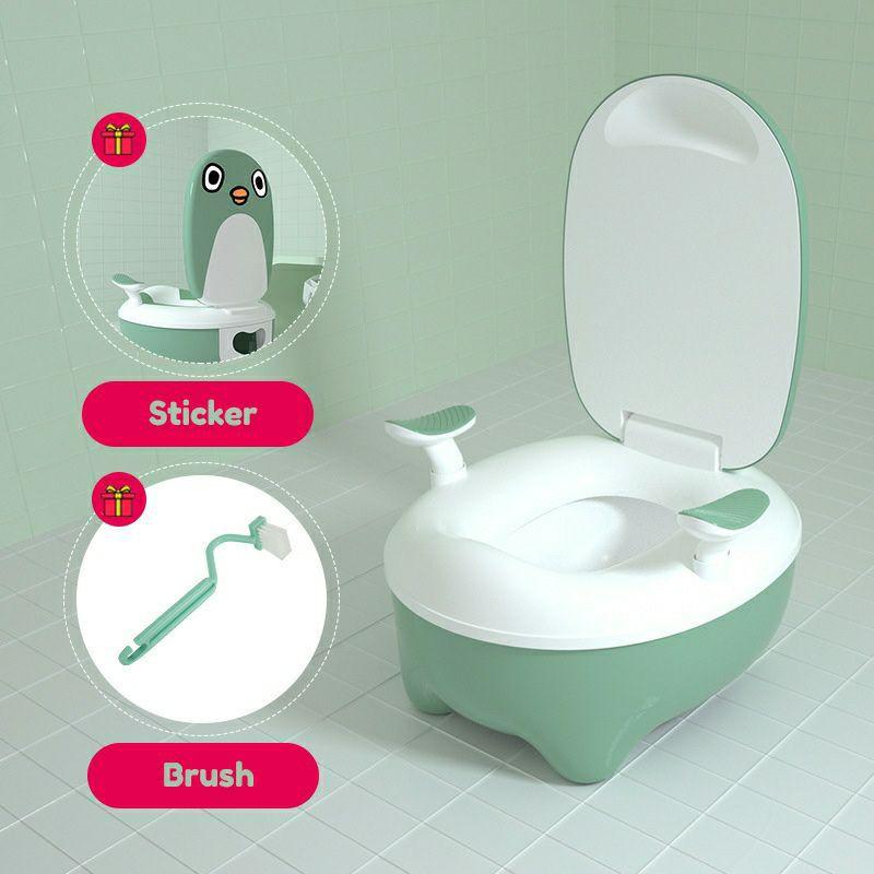 Toilet Potty Cartoon Safety Urinal Early Learning Simulation Toilet Bowl / Toilet Belajar Kanak Kanak