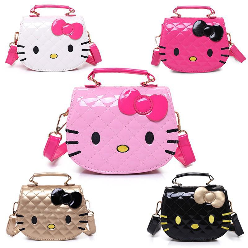 38cf72f49 ❀ READY STOCK ❀ Korean Lovely Hello Kitty Bag Baby Girls Mini PU Shoulder  Bags | Shopee Malaysia