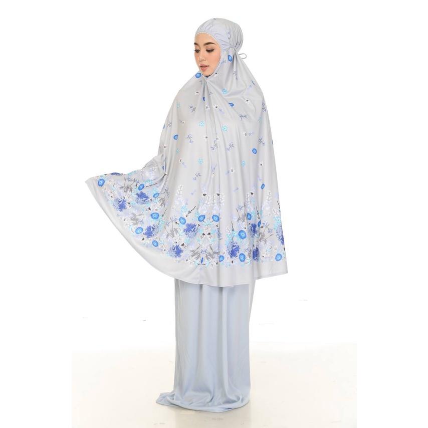 Telekung Viscose Cotton Dewasa [ Ready Stock ] for Solat | Telekung Siti Aisyah | Telekung Corak Bunga | Telekung Cantik