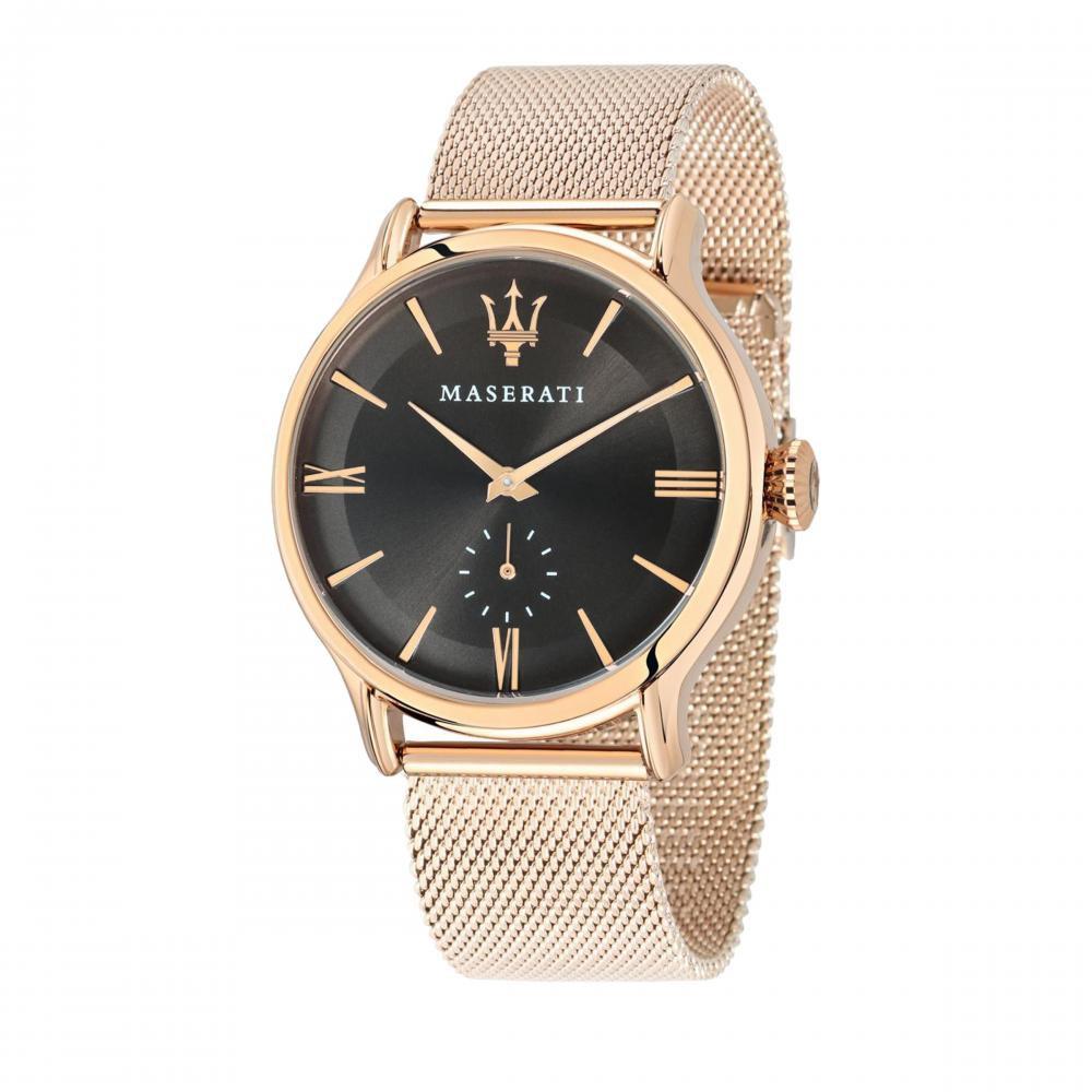 Maserati Epoca Rose Gold Metal Band Quartz Watches R8853118004