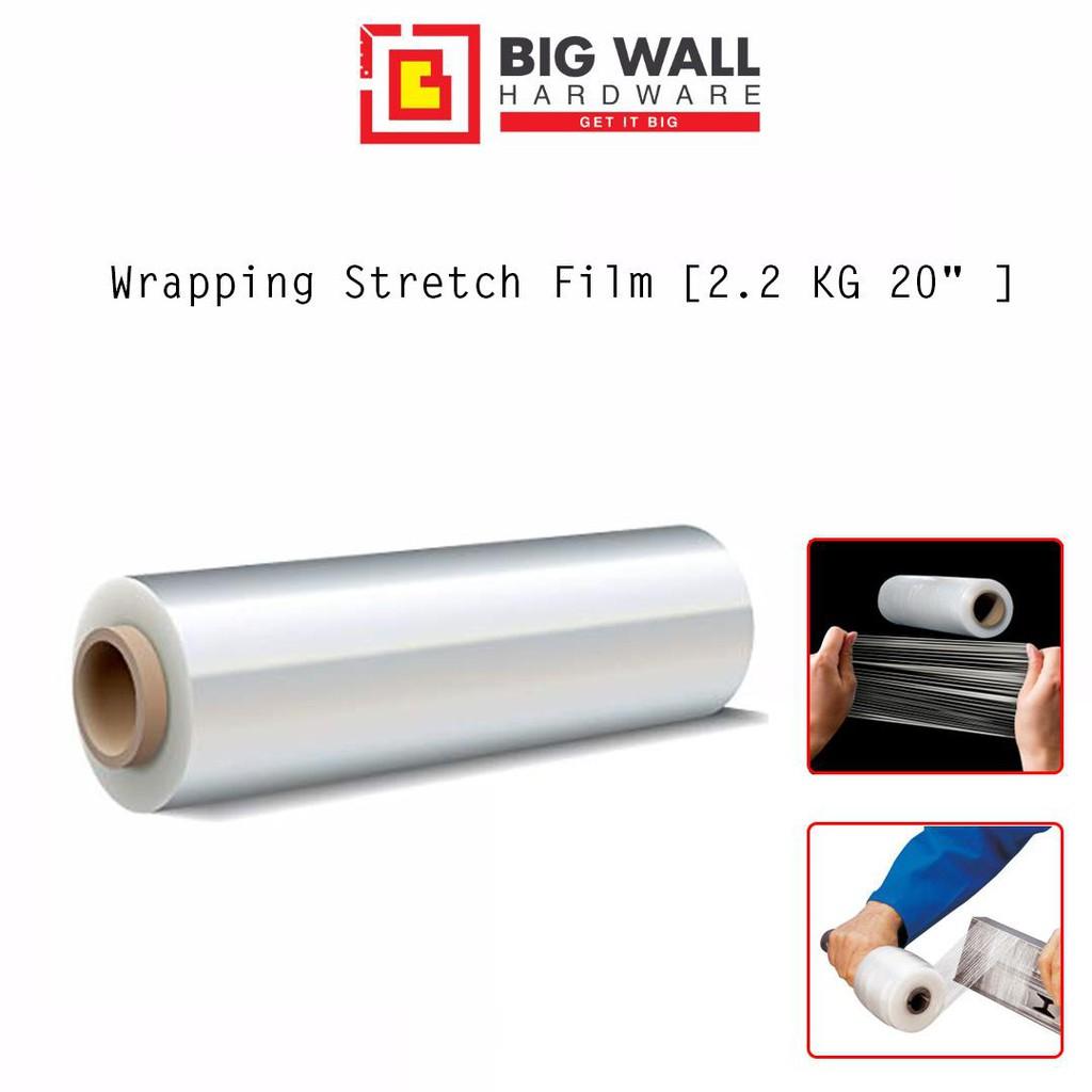 "Wrapping Stretch Film [2.2 KG 20"" (500mm) ]"