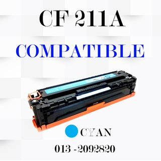 Compatible CF211A 131A Cyan Laser Toner Cartridge For HP LaserJet Pro 200 M276n   Shopee Malaysia