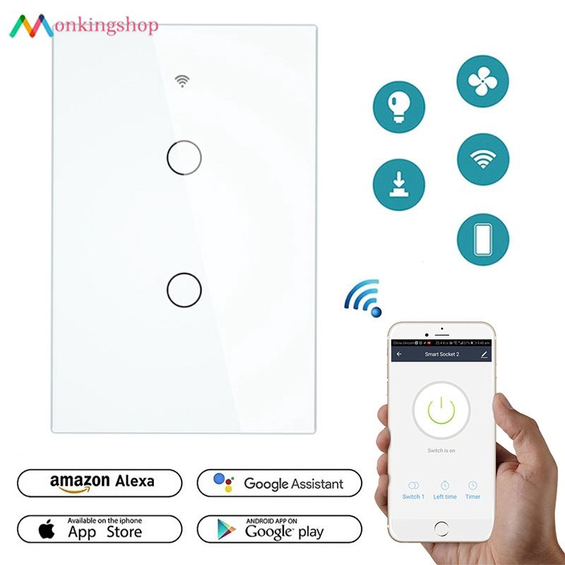 High Quality WiFi Smart Wireless Remote Controller 8 Button Easy to install