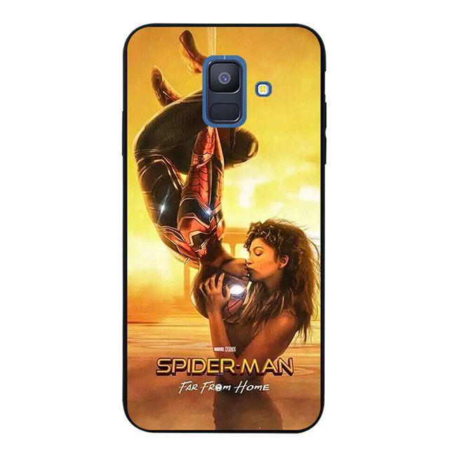 Samsung J2 Note 3 4 5 8 9 A5 A6 A8 A9 Star Pro Plus 2018 Inverted Spiderman Soft Silicon Black TPU Case