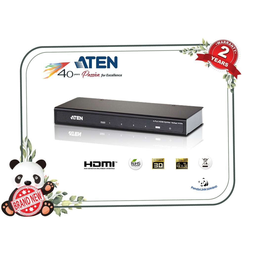 HDMI splitter Aten VS184A 4 port Ultra HD 4K HDMI 1.4 HDCP up to 15m