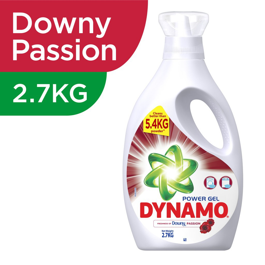 Dynamo Power Gel Freshness of Downy® Passion Concentrated Gel Detergent 2.7KG