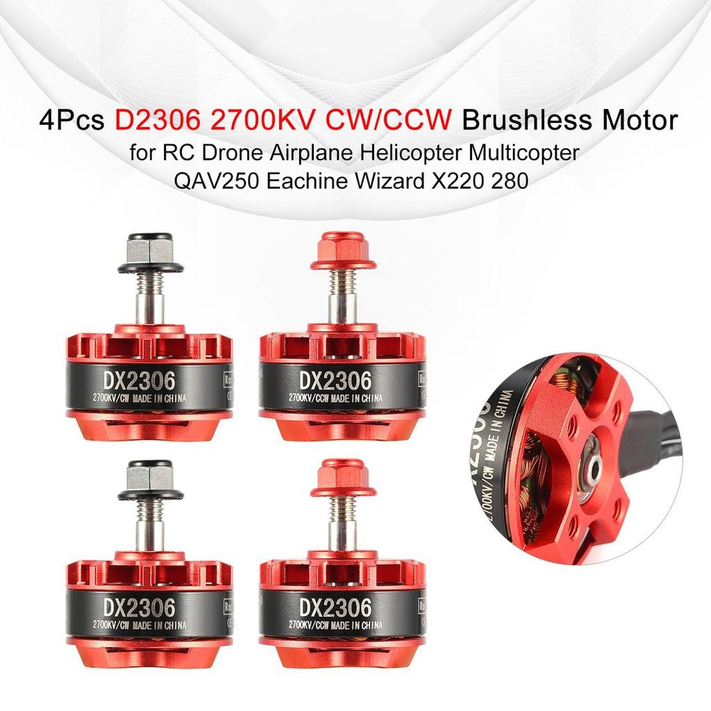 4500//6000//7500KV EMAX RS1106II Micro Brushless Motor für Mini RC Racing Drone
