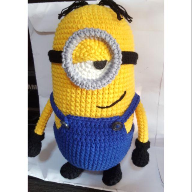 Amigurumi Minion Bob - FREE Crochet Pattern / Tutorial | Minyonlar ... | 640x640