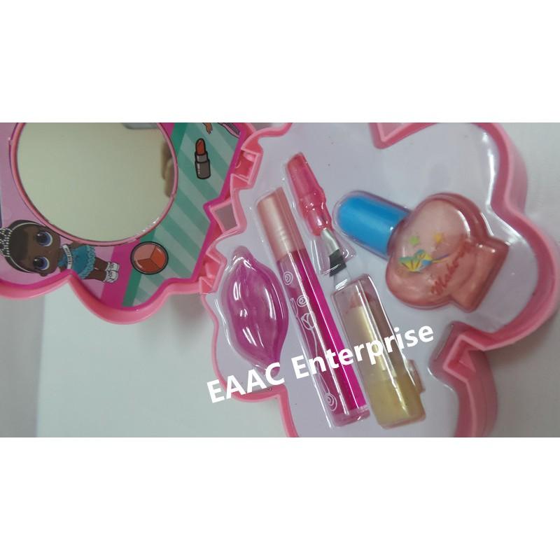 LOL Girl Washable Beauty Make Up Set Cosmetic Set Nail Art