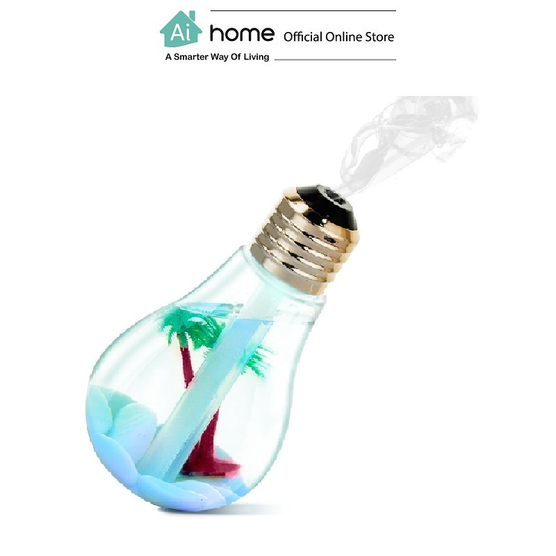Light Bulb Humidifier with Light and Decoration with 6 Month Malaysia Warranty [ Ai Home ]