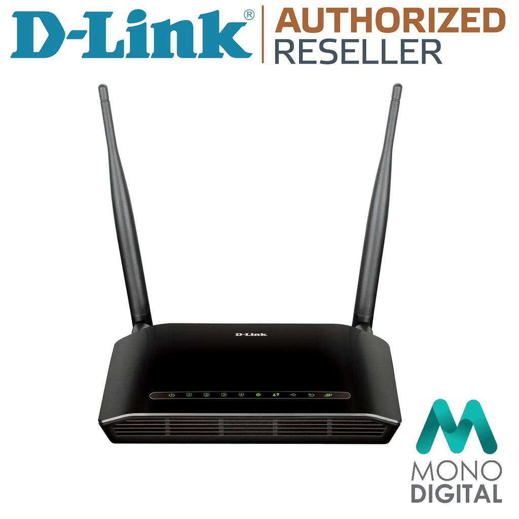 D-LINK DSL-2750E Wireless N 300 ADSL2+ Modem Router(300mbps)   Shopee Malaysia