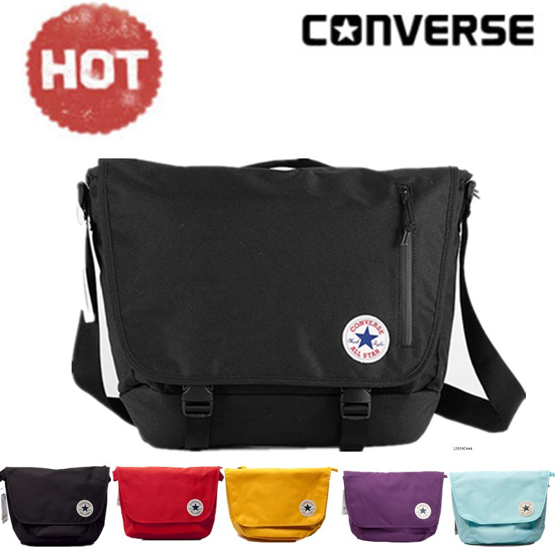 8d346a663d8 New genuine Converse shoulder bag men bag Messenger bag canvas handbags  high school student bag sports small bag   Shopee Malaysia