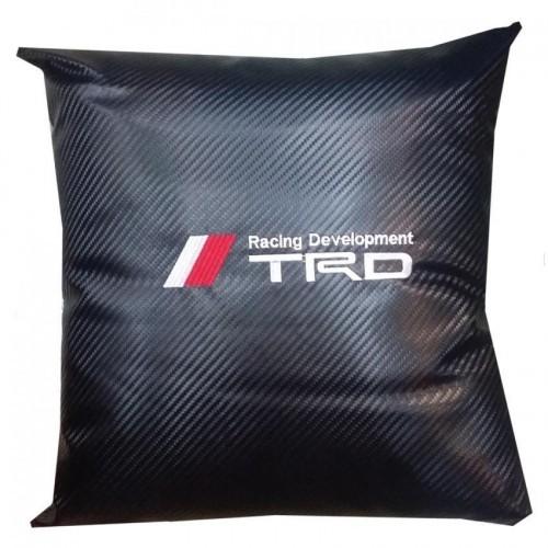 TRD Carbon Micro-fibre Car Pillow
