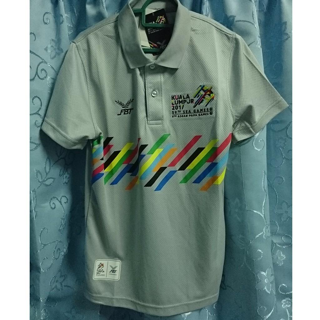 Sukan Sea Kl 2017 Sea Games Official Polo Shirt Fbt Shopee Malaysia
