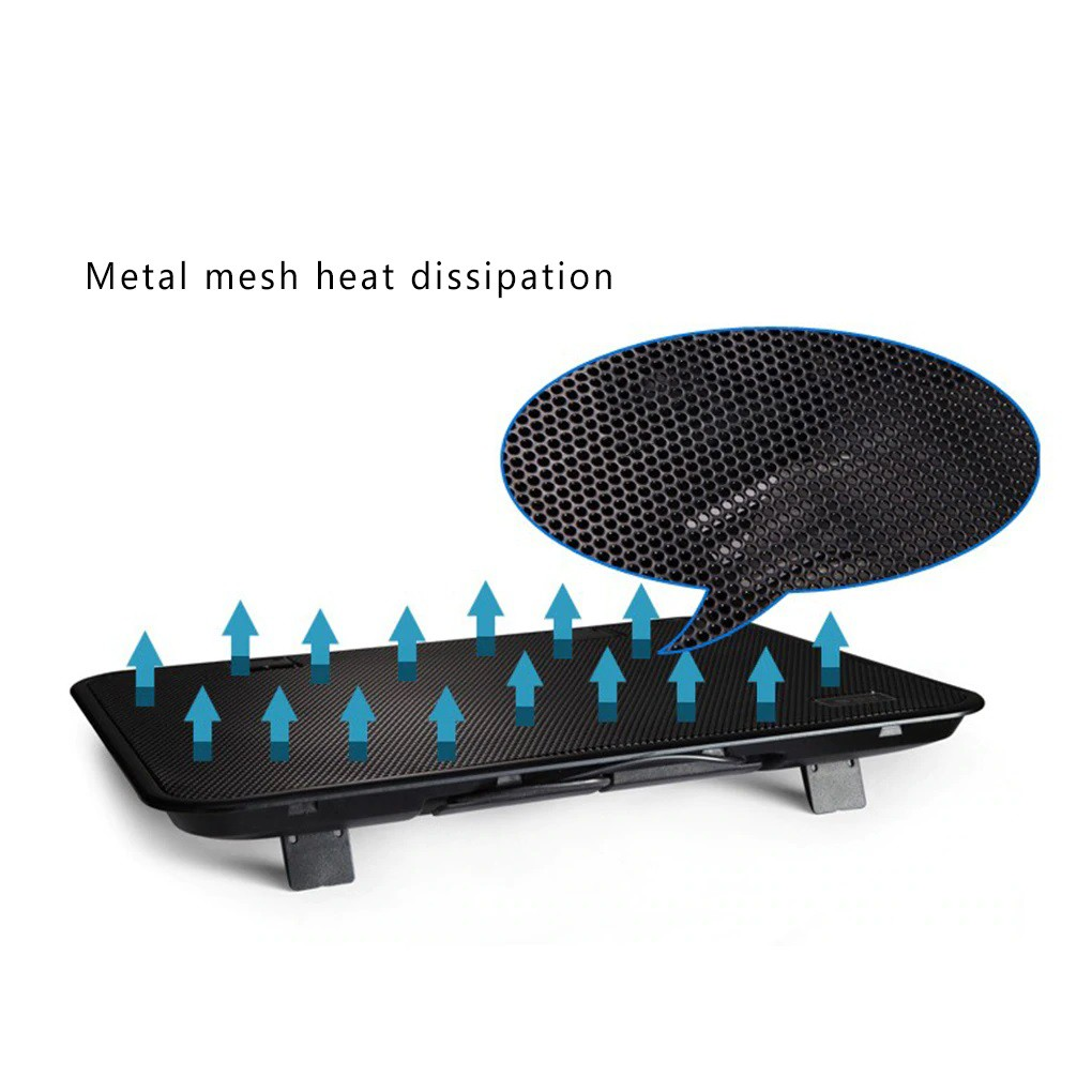 Laptop Cooler Pad - Dual Fan - USB External - High Speed - Silent - Excellent For Everyday use / Gaming