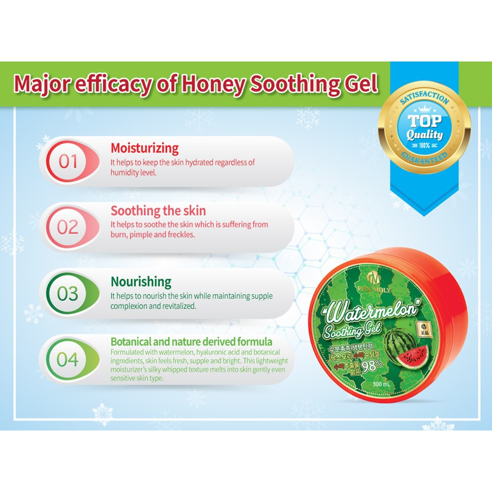PAX MOLY Soothing Gel - Watermelon (300g)