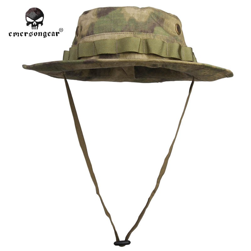 6446870d75b EMERSON Boonie Hat Military Tactical Army Anti-scrape Grid Fabric  camouflage