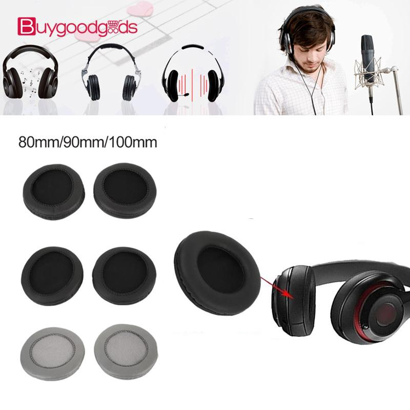 90mm 2PCS Over-Ear Soft Durable Earcaps Earbuds Parts Earphone Replacement