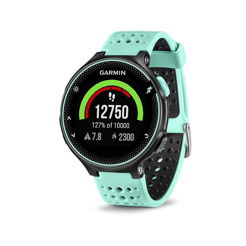 Garmin Forerunner 235 GPS Running and Smart Notifications - Black/Frost Blue