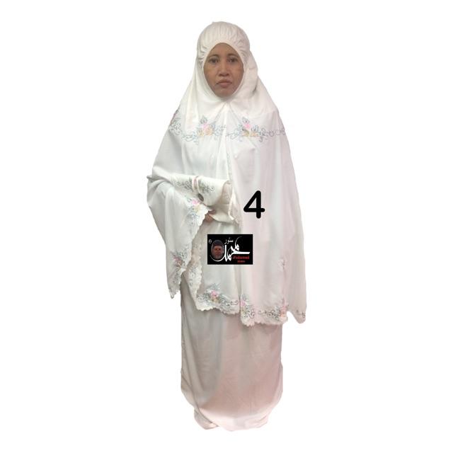 Leena Telekung Beg Sejadah (Free Beg Sejadah)
