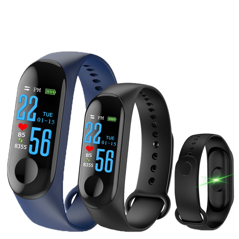 🔥[Ready Stock] M3 Smart Band Color Screen Heart Rate smart watch