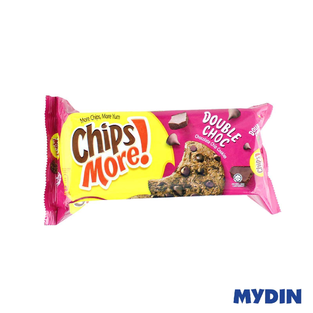 Chipsmore Double Choc Chocolate Chip Cookies 153g