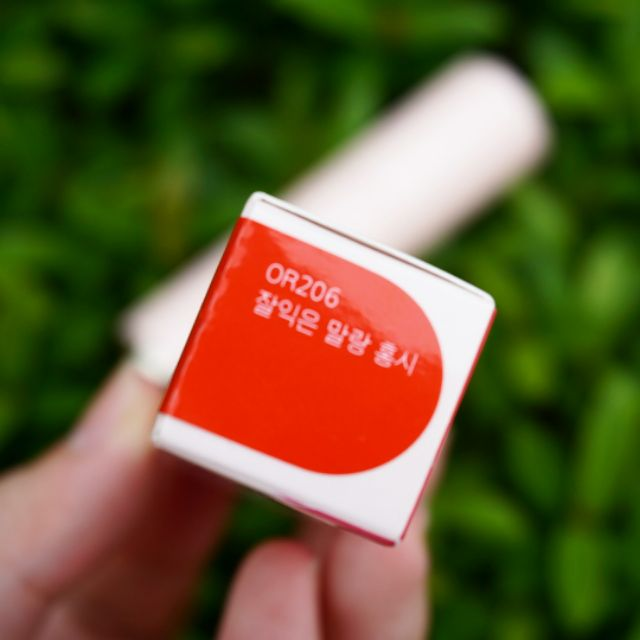 【CLEARANCE】Etude House Dear My Enamel Lips-Talk (OR206)