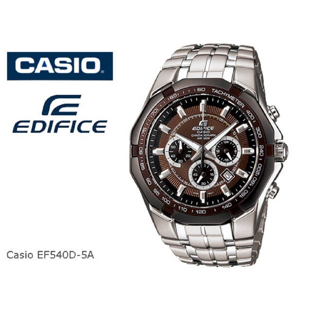 31467001e Casio Edifice Ef540D-5A & Ef540D-7A Men's watch | 100% Original | Shopee  Malaysia