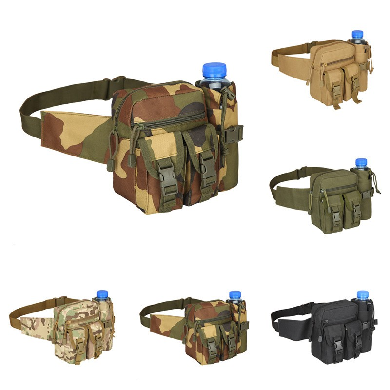 dd19695d5b0 BDS Tactical Molle Bag Waterproof Waist Fanny Pack Hiking Fishing Sports  Hunting