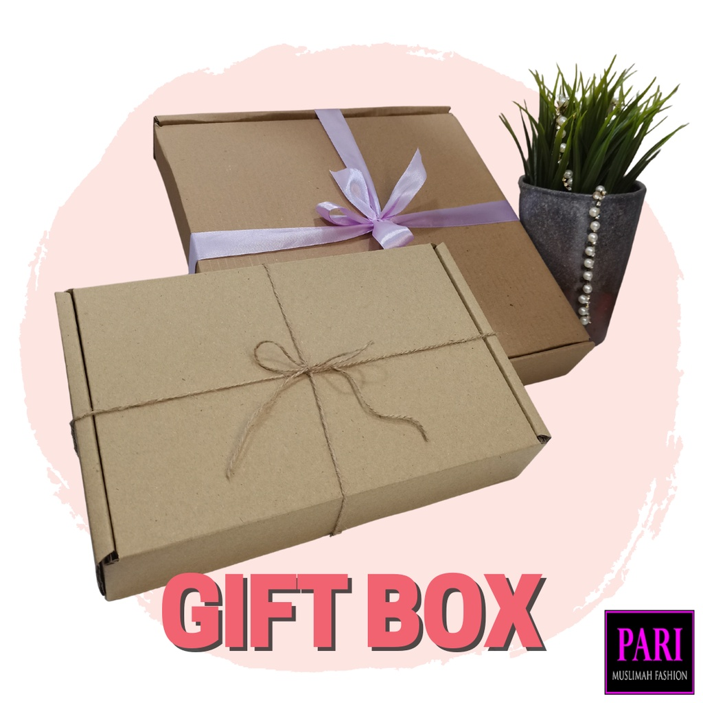 GIFT BOX FOR SUPRISE. ADD ON BIRTHDAY GIFT WISHES