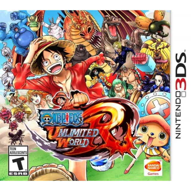 Original Nintendo 3DS One Piece Unlimited World