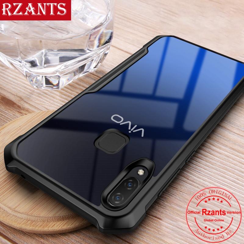 VIVO Y91 Y91C Y91i Y93 Y95 Case Transparent Back Four Corner Shockproof  Cover