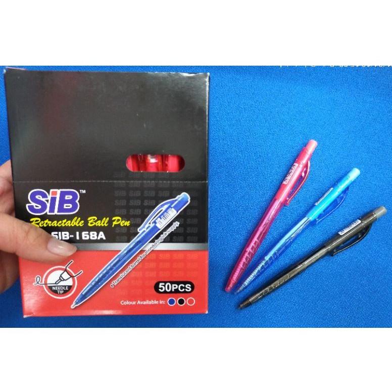 SIB Retractable Ball Pen BP-SIB-168A
