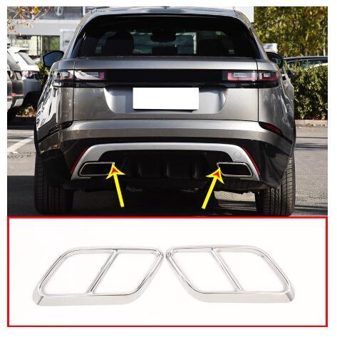 Carbon Fiber Style For Range Rover Velar 17-20 Fender Side Air Vent Outlet Cover