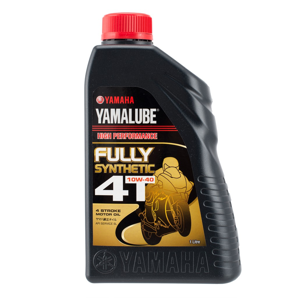 Yamaha Yamalube 4T 10W-40 Fully Synthetic Motorcycle Oil (1.0L)