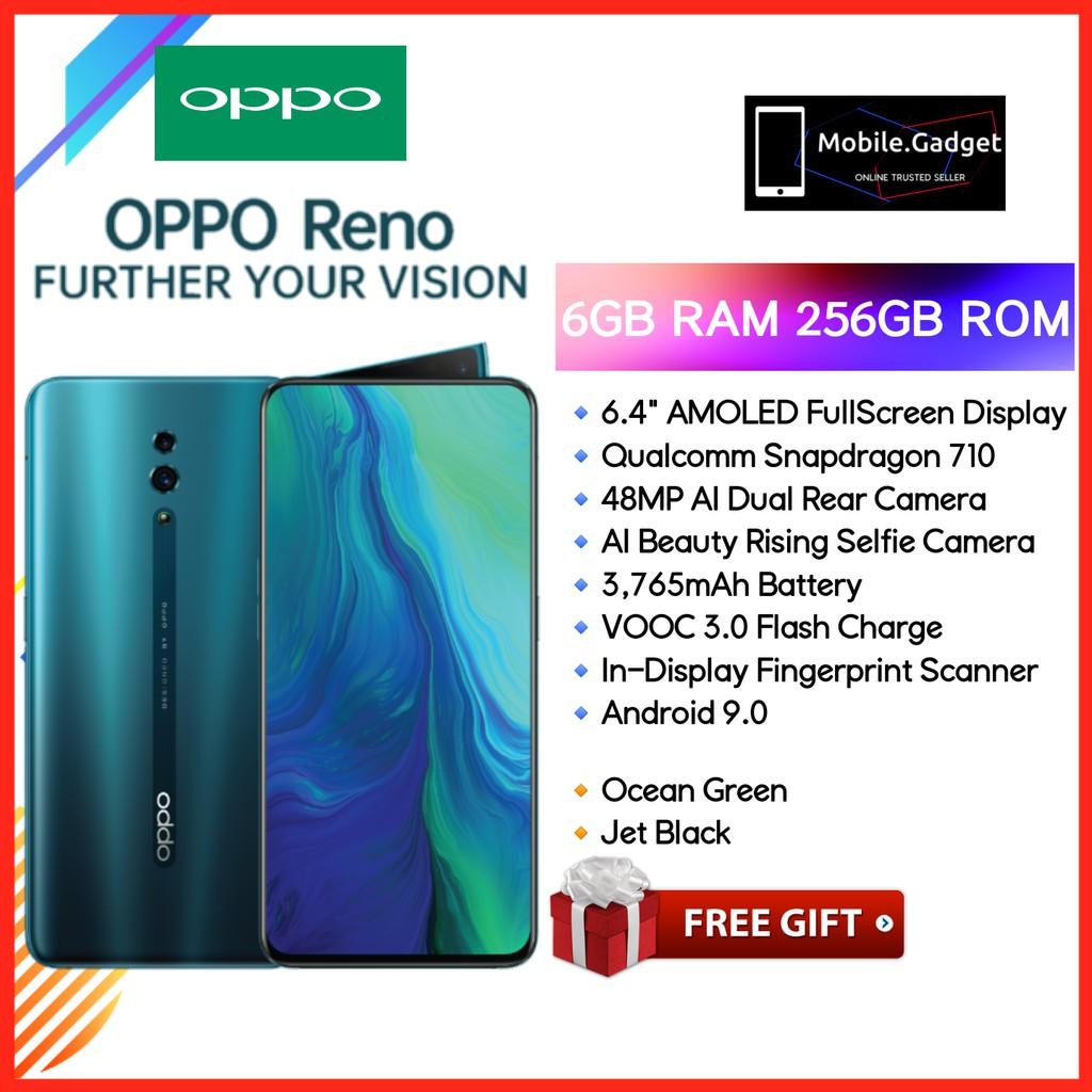OPPO RENO 6GB RAM + 256GB ROM VOOC 3 0 Flash Charge
