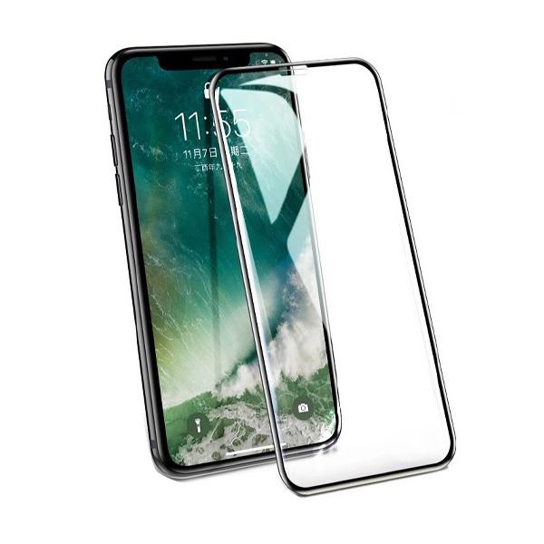 ฟิล์มกระจก 10D iPhone X 8 6 6s Plus 6 6s Plus 7 XS MAX XR X 9H Tempered Glass ฟิล์ม เต็มจอ ขอบโค้ง ไม่ดันเคส