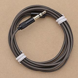 Earphone Audio Cable Repair Replacement 3 5mm TRS Jack DIY Elbow