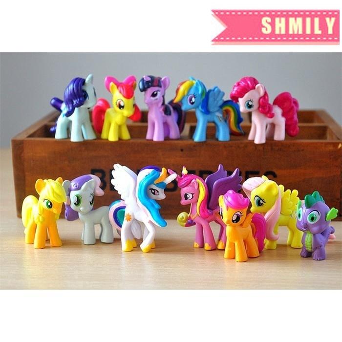 4cm Mini My Little Pony Mini Figure Toy Scootaloo Cake Topper