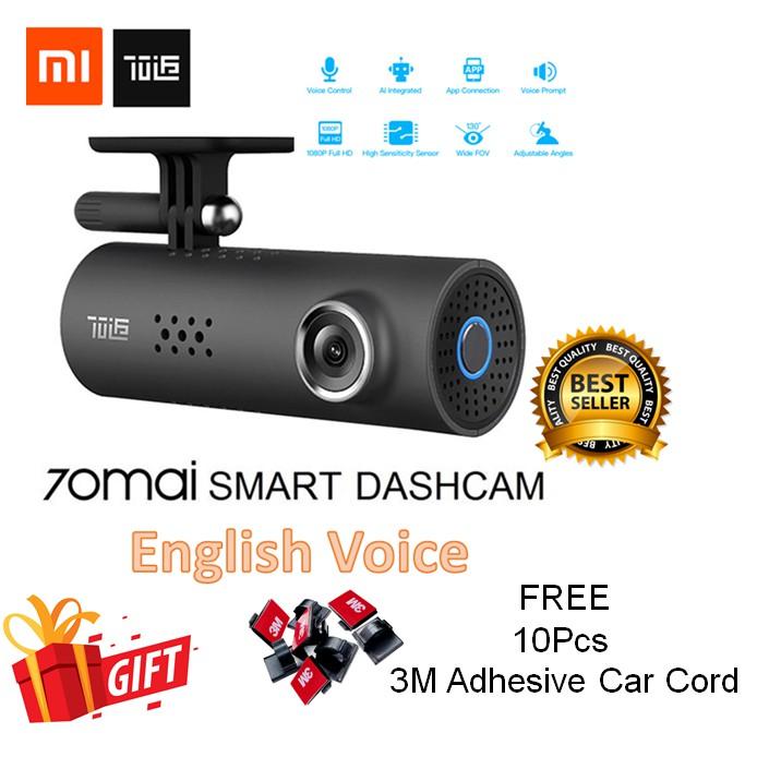 [GLOBAL VERSION] Xiaomi 70MAI Car Recorder Dashcam 70 MAI Car Cameras WiFi  APP CONTROL