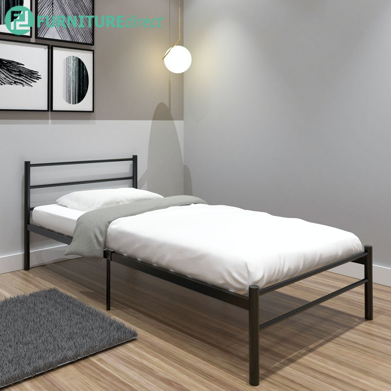Furniture Direct LILY single size metal bedframe/ katil single/ katil single besi/ single metal bed