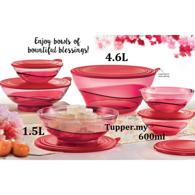 Tupperware Elegance Bowl SET