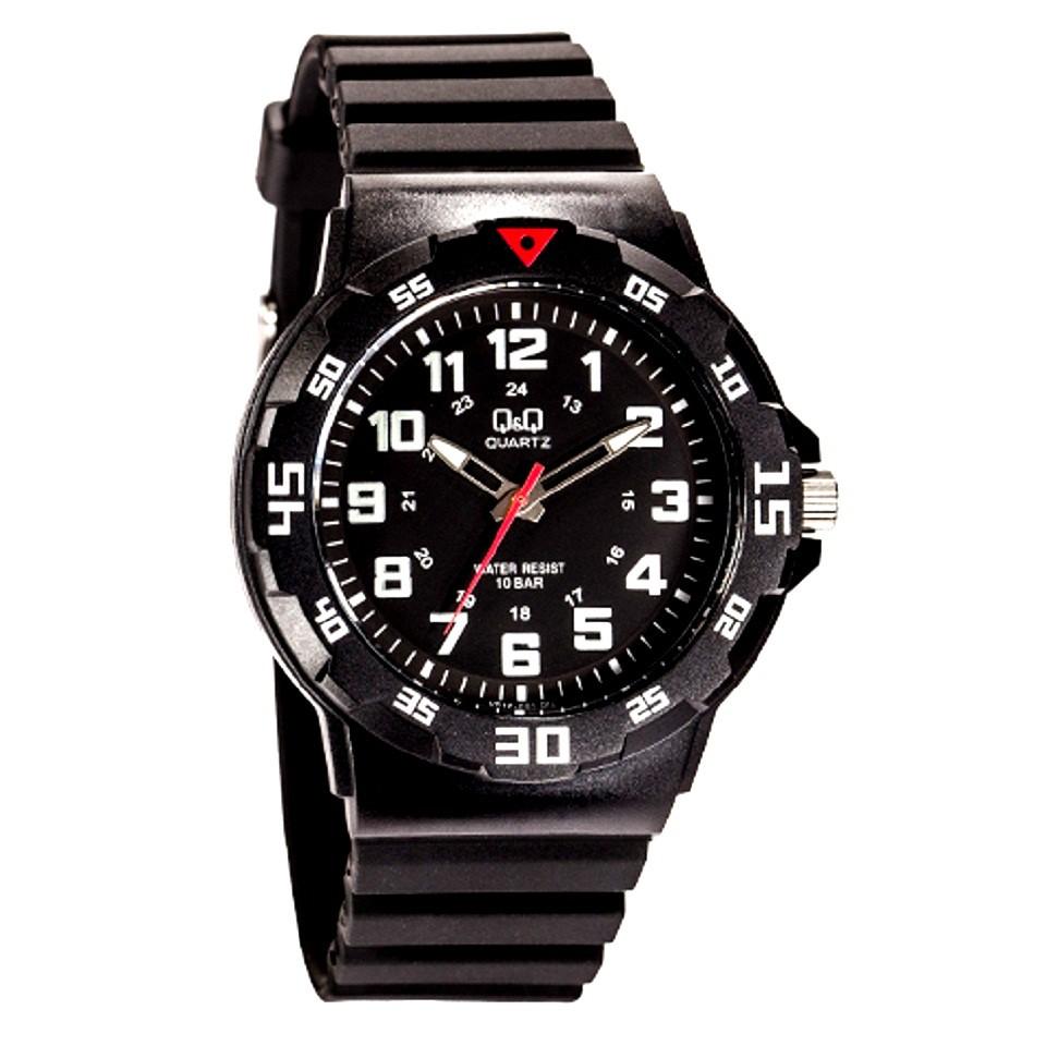 Q Wristwatches Original Qq Qnq Black Men S Watch Vr18j001y Shopee Malaysia