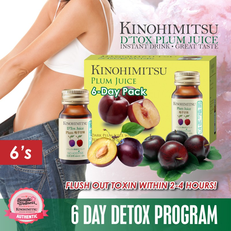 Kinohimitsu 6 day detox programme