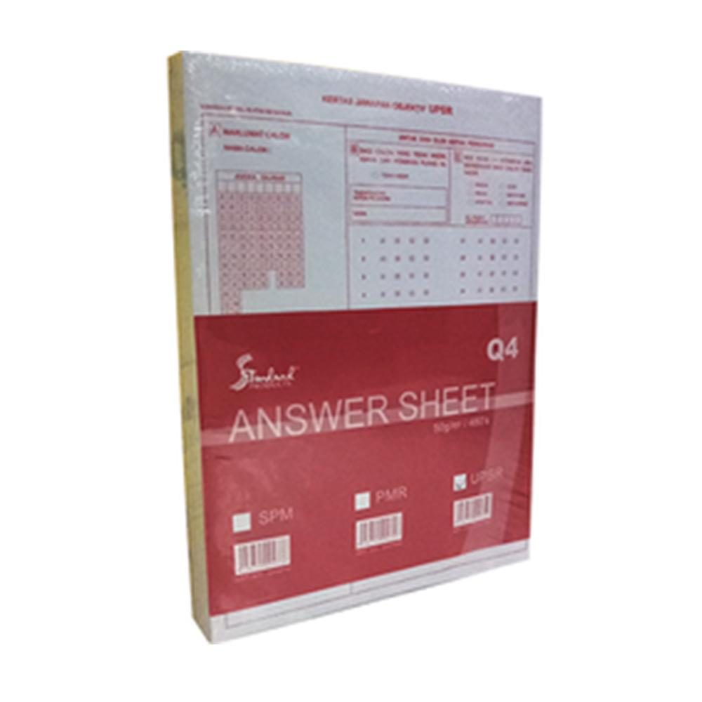 Objective Exam Answer Paper 480 sheets | Shopee Malaysia